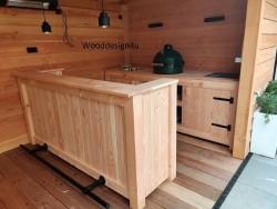 Buitenkeuken + barwooddesign4u