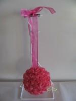 bloemenbal Pomander RoseBall Hot Pink nr34 bloemenbal Poman…