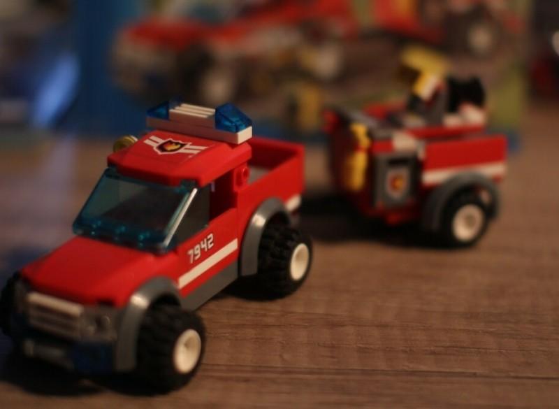 7942 Brandweer Pick-Up Truck