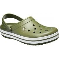 Crocs Instappers Charcoal Kaki - Maat 32/33