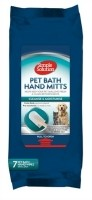 Simple solution bathing mitts