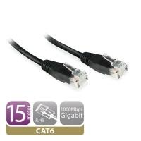 EW9532 netwerkkabel Zwart 5 m Cat6 U/UTP (UTP)