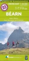 Wandelkaart 03 Béarn - Aspe - Ossau - Pyrenees   Rando Edit…
