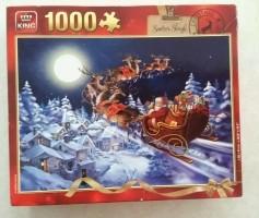 Puzzel Santa's Sleigh - 1000 stukjes (Ruilen of bieden)