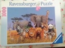 Puzzle Wildlife - 1000 stukjes (Ruilen of Bieden)