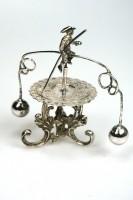 Antiek zilveren kroegenspel