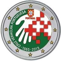 Portugal 2 Euro 2015 Rode Kruis Gekleurd