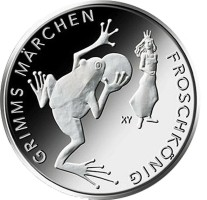Duitsland 20 Euro 2018 Kikkerkoning