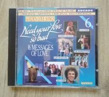 De originele verzamel-CD Need Your Love So Bad van Arcade.