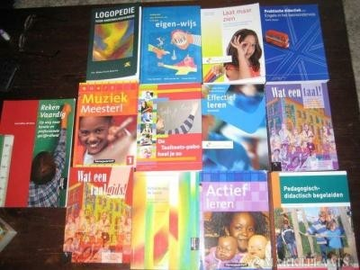 Diverse (i) PABO boeken,, zie advert.