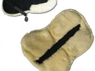 Zadelonderlegger wervelkolom vrij zwart bont