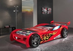 Autobed Le Mans Rood