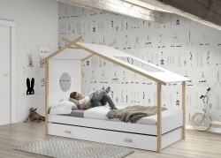 Cocoon 1-persoons huisbed
