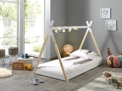 Tipi 1-persoons kinderbed