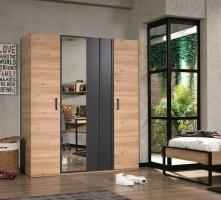 Irony 3- of 4-deurs kledingkast