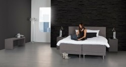 Caresse Boxspring 4550 Vlak 2-persoons