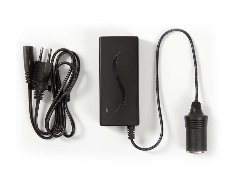 voeding 220 volt naar 12 volt 5A sigarettenplug