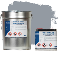 Wixx 2K PU 450 Betoncoating 10L | RAL 7040