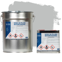 Wixx 2K PU 450 Betoncoating 10L | RAL 7035