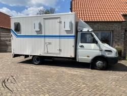 Paardenwagen - paardenvrachtwagen IVECO 35-10.1 HORSETRUCK