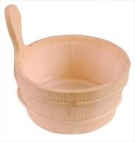 Sawo sauna emmer met 3l of 4l plastic inzet 4L