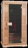 Exclusive Two Red Cedar Duo Heater