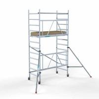 Steiger Euroscaffold 90 cm breed werkhoogte 4,7 meter