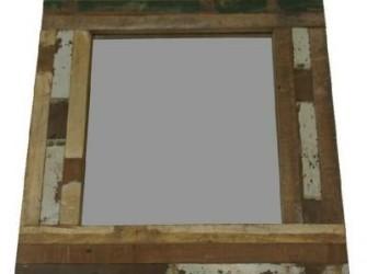 Spiegel sloophout 60x55cm