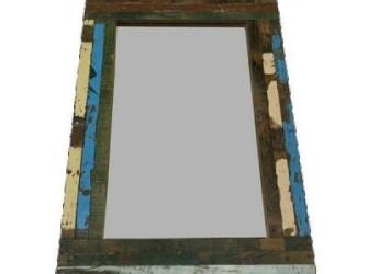 Spiegel sloophout 90x60cm