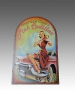 Amercan Classic Pink Cadillac