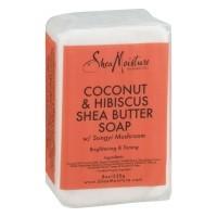 Shea Moisture Coconut & Hibiscus soap