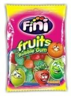 Bubblegum kauwgom fruits 80 gr