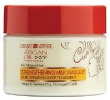 creme of nature strengthening hair masque