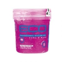 Eco Styler Professional Styling Gel Curl & Wave Pink 8 oz (…