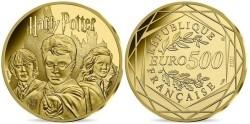 Frankrijk 500 Euro Goud Harry Potter