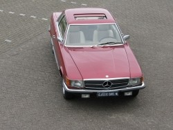 Mercedes-Benz 280 SLC coupe 1974 oldtimer in mooie staat