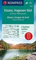 Wandelkaart 2222 Vogezen Zuid Elzas / Vogezen Colmar, Mülha…