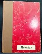 Messias,Duits,Oratorium Händel,ca.1910, pianozetting,zgst