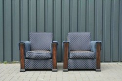 Art Deco fauteuils