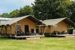 Safaritent voor 6 personen met badkamer op park Rhederlaags…
