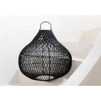 Bohemian Rotan Hanglamp - The Bottle Pendant Black M