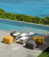 Talenti Ocean Pouf 65x65 Warm Grey