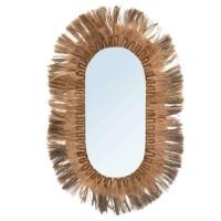 Bohemian Natuurlijke Wandspiegel - The Huge Oval Mirror Nat…