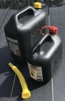Jerrycans voor benzine en/of diesel