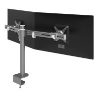 Dataflex Viewmate - bureau 642, Zilver Monitorarm