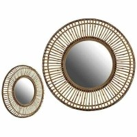 Spiegel Natuurlijk Spiegel (101 x 9 x 101 cm)