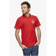 Ajax Poloshirt Rood - Maat 116/122