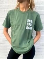 T-shirt D ⚡ O R Groen