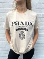 T-shirt P Я A D A Beige