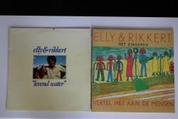 Elly & Rikkert. 6 verschillende LP's
